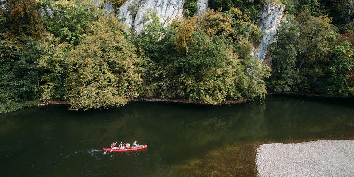 Schwäbische Alb | Paddeltour auf der Donau