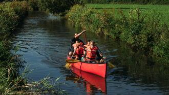 Kanuabenteuer auf der Lauter und der Donau