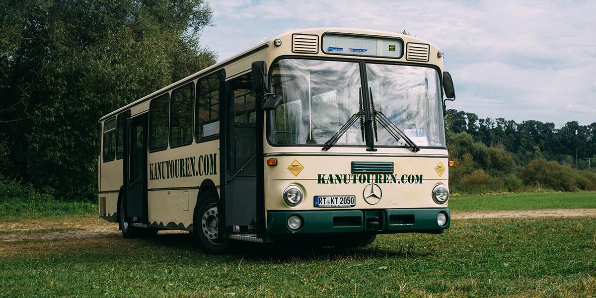 Bustransfer von Kanutouren im Wilden Süden