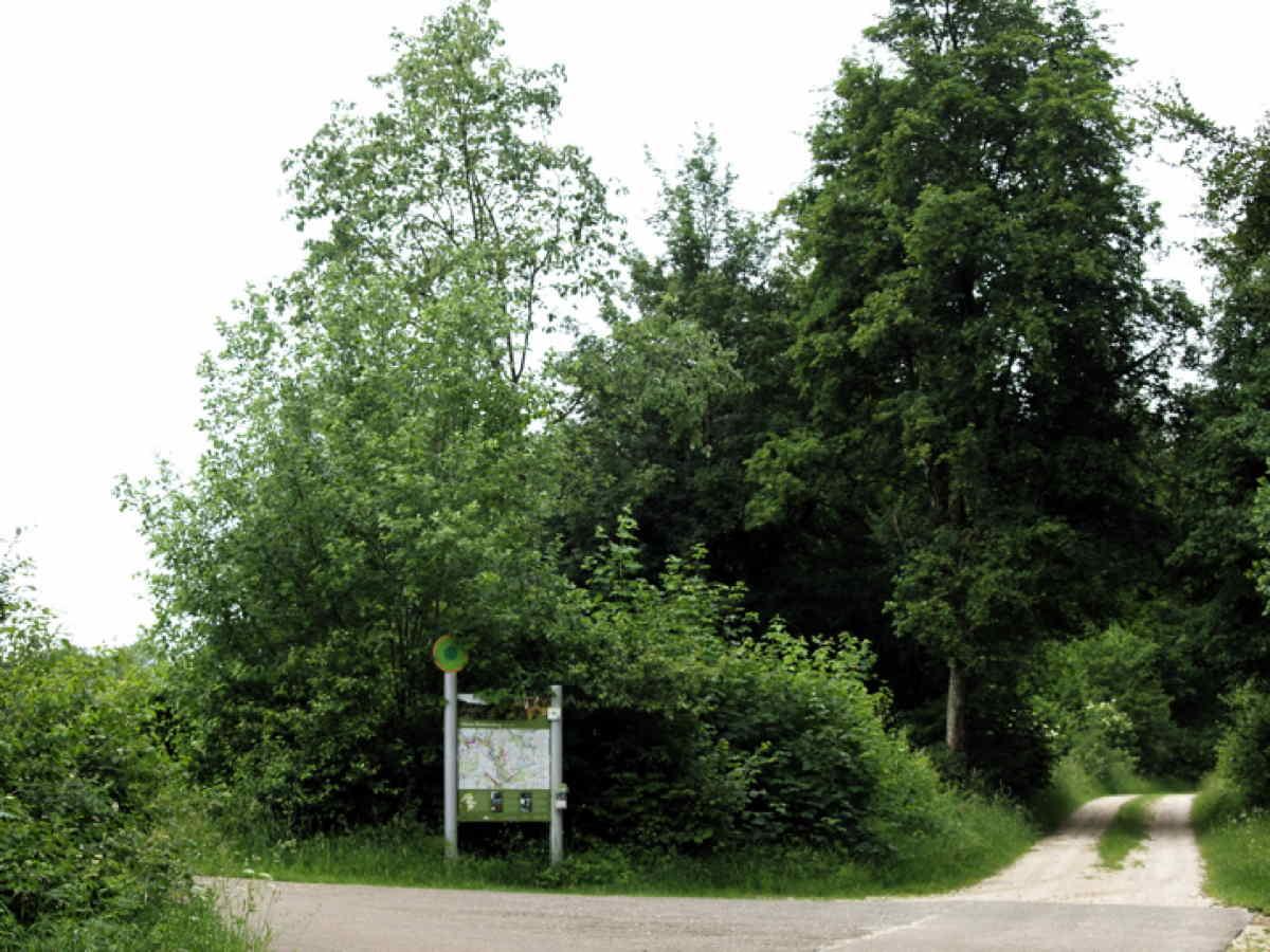 Wanderweg - Grosses Lautertal